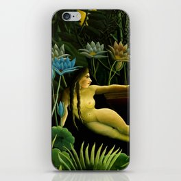 "Henri Rousseau ""The dream"", 1910 iPhone Skin"