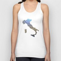italy Tank Tops featuring Italy by Isabel Moreno-Garcia