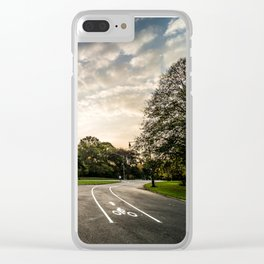 Brooklyn park entrance/exit Clear iPhone Case