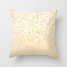 Glitteresques IV:IX Throw Pillow