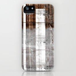 Black White Bars iPhone Case