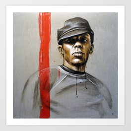 Mos Def - by Jay Turner Art Print