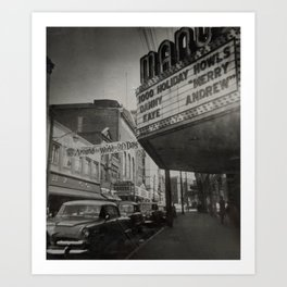 Snap from the Past Art Print
