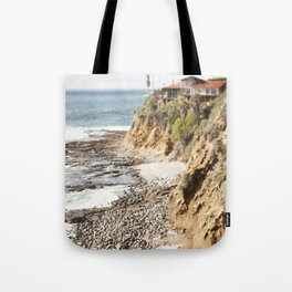 Cliffs Along the Palos Verdes Hills Tote Bag