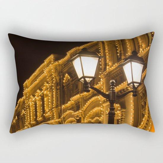 City lights Rectangular Pillow