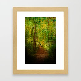 Way Out of the Darkness Framed Art Print
