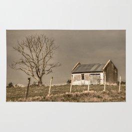 Rural Landscape Scene Rug
