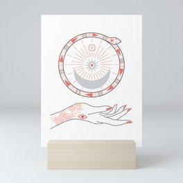 Secret Moon Mini Art Print