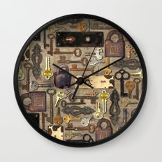 Lock Wall Clock