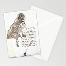 Christmas frost Stationery Cards