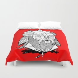 Warrior's Decapitated Head Duvet Cover
