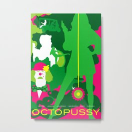 James Bond Golden Era Series :: Octopussy Metal Print