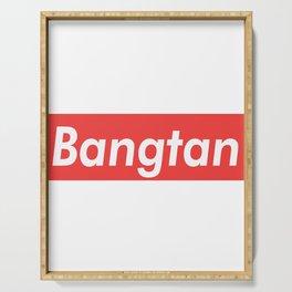 BTS Bangtan red Serving Tray