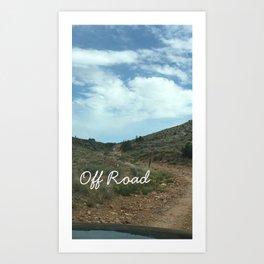 Off Road Art Print
