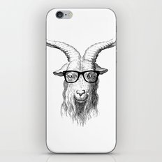 Hipster Goat iPhone & iPod Skin