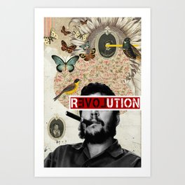 Public Figures Collection - Che Guevara Art Print