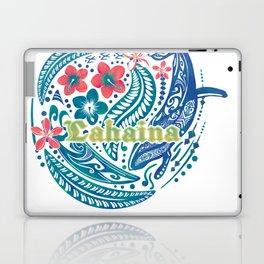 Lahaina Watercolor Whale Laptop & iPad Skin