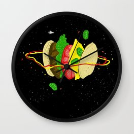 Planetary Discovery 8932: Cheeseburger Wall Clock