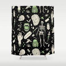 Whole Lotta Horror: BLK ed. Shower Curtain