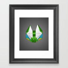 Space cat Joe Framed Art Print