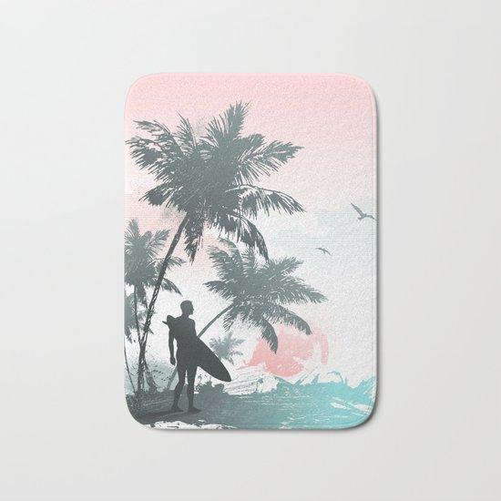 Summer beach Bath Mat