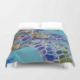 Honu Kauai Sea Turtle Duvet Cover