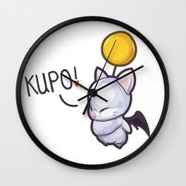 Wind-Up Moogle – Kupo! Wall Clock