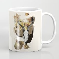 Deer Skull by carographic Mug