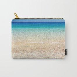 Aqua Water Beach Carry-All Pouch