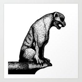 Gargoyle's Pet Art Print