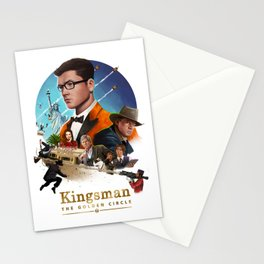 Kingsman - The Golden Circle Stationery Cards