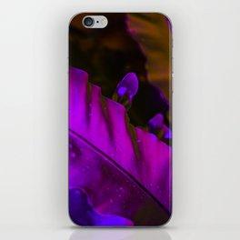 The Night Garden Magenta iPhone Skin