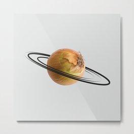 onion saturn Metal Print