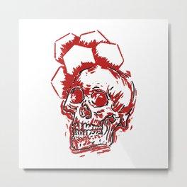 HEX Metal Print