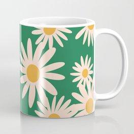 Retro Daisy pattern  Coffee Mug