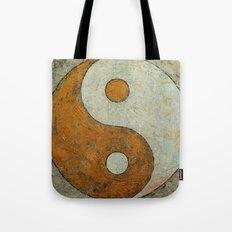 Gold Yin Yang Tote Bag