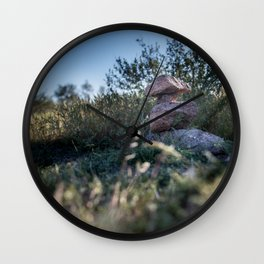 Rock Stacking Wall Clock