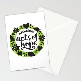 Random Acts of Hope Stationery Cards