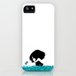 Clover and Coccinelle iPhone Case