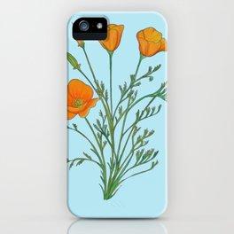 California Poppy iPhone Case