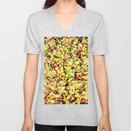 *SPLASH_COMPOSITION_38 Unisex V-Neck