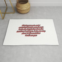 Long distance relationship I love you quotes sayings Rug