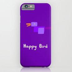 Happy Bird-Purple iPhone 6s Slim Case