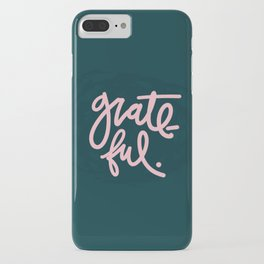 Feeling Grateful iPhone Case