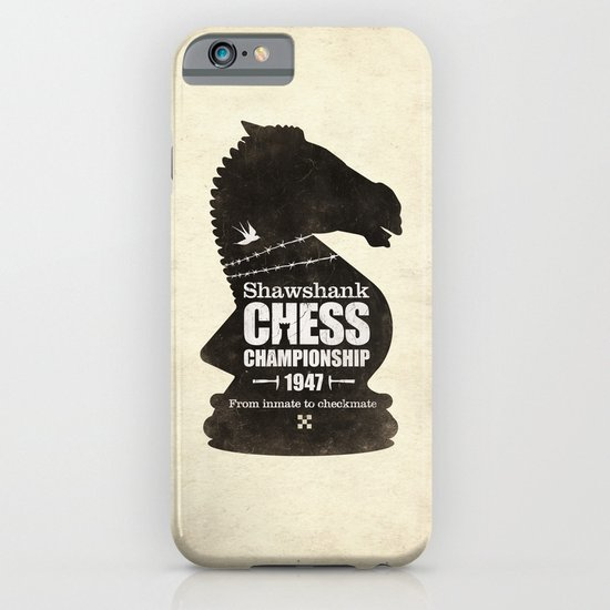 Shawshank Chess Championship iPhone & iPod Case