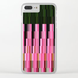 Kaleidoscope | Crape Myrtle Clear iPhone Case