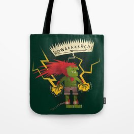 Electric Thunder Tote Bag