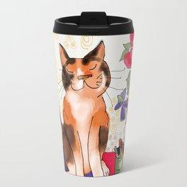 Artist's Cat Travel Mug