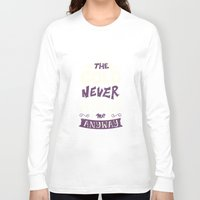 risa rodil Long Sleeve T-shirts featuring Cold Never Bothered Me Anyway by Risa Rodil