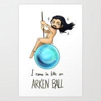 thorin Art Prints featuring ArkenBall Thorin by KuroCyou